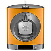 NESCAFE Dolce Gusto Oblo Manual Orange Coffee Machine by KRUPS