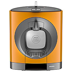 NESCAFE Dolce Gusto Oblo Manual Orange Coffee Machine by KRUPS