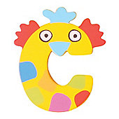Tatiri Crazy Animals Letter C (Yellow Chicken)