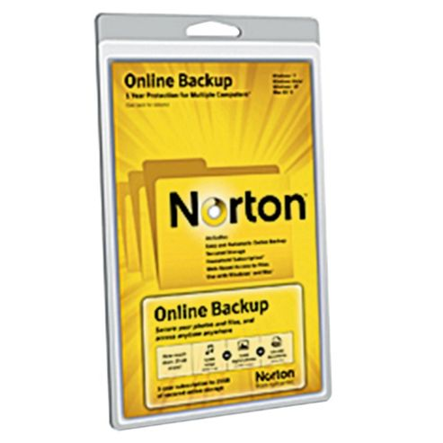 Cloud 1  Norton Online Back Up 5GB