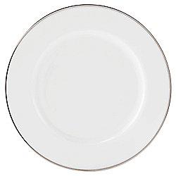 Platinum Band Porcelain Side Plate