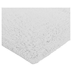 Tesco Basics Bath Mat Cotton White