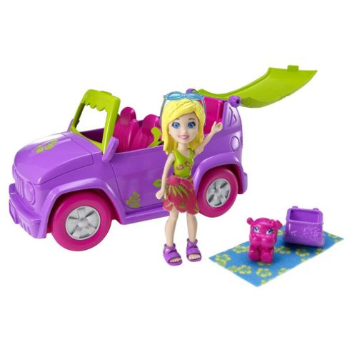 Polly Pocket Drive N Slide Vehicle