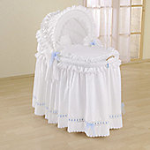 Leipold Romantic Full Length Hood Crib in Blue