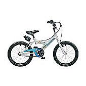 "Claud Butler CBR Space Ranger Kids' 18"" Wheel Silver Junior Bike"