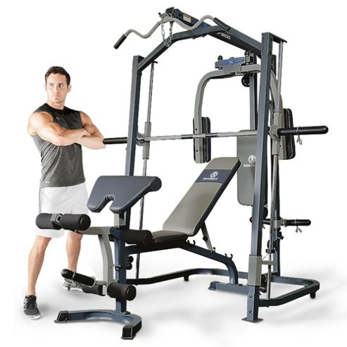 buy marcy mp3100 home gym smith machine with weight bench from our all fitness equipment. Black Bedroom Furniture Sets. Home Design Ideas