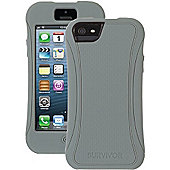 Griffin Survivor Slim Case (Grey/Orange) for iPhone 5