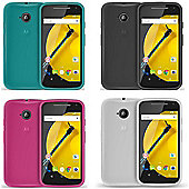 Orzly FlexiCase for Motorola Moto E (2nd Gen) 2015 - White
