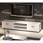 32 - 70 Inch LED/LCD/Plasma Glossy MDF TV Stand - White