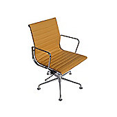 EA108 Eames Inspired Tan Brown Office Chair
