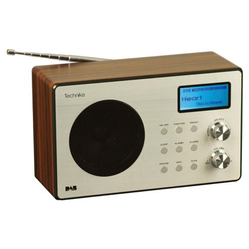Technika DR 11202RW Oxford Digital Radio - Rosewood