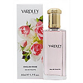 Yardley English Rose Eau de Toilette (EDT) 50ml Spray For Women