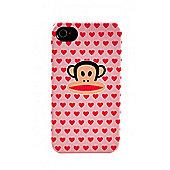 iPhone 4 Deflector Case Multi Hearts Julius