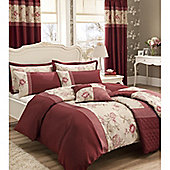 Catherine Lansfield Home Signature Gardenia Pillowsham Red