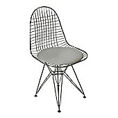 Eames Replica Dining Chair DKR White Seat