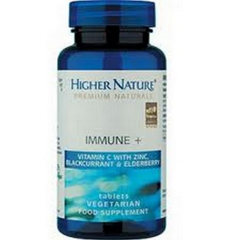 Higher Nature Immune Plus 30 Veg Tablets