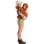 Baby Orangutan Arm Puppet Costume