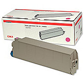 OKI Type C5 Toner Cartridge for C9300/9500 Printers (Magenta)