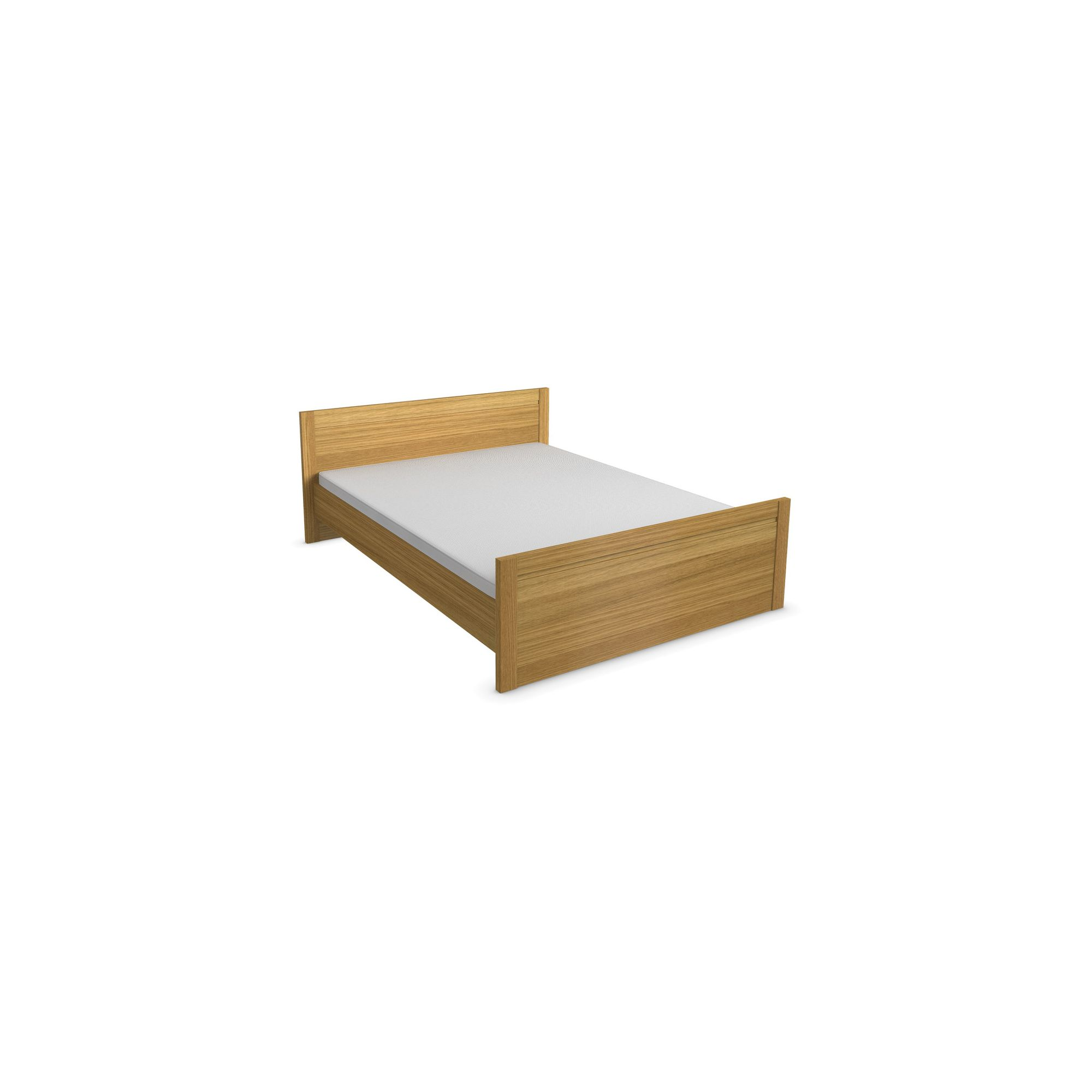 Urbane Designs Tango Bed Frame - Double - Oak at Tescos Direct