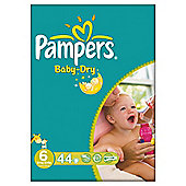 Pampers Baby Dry Size 6 Large Pack - 44 nappies
