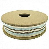 Ribbon Reel - Deck Chair - Brown/Cream/Aqua