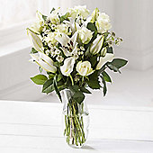 White Serenity Bouquet