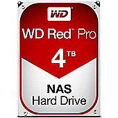 WD 4TB Red Pro 64MB 3.5IN SATA 6GB/S NAS Hard Drive Designed specifically with SMB customers in mind Exclusive NASware 3.0 technology WD4001FFSX