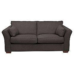 Windsor 3 Seater Fabric Sofa, Nutmeg