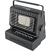 Steel Portable Gas Heater Black