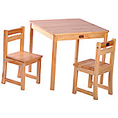 Tikk Tokk Boss Table and Chair Set - Natural