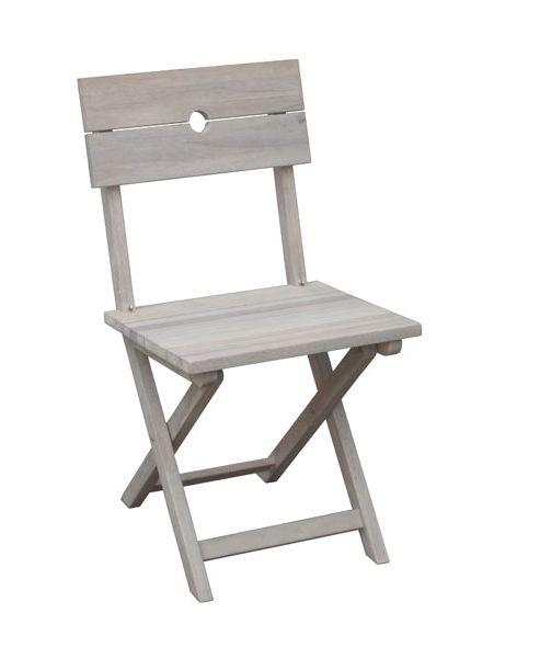 Craft folding dining chair