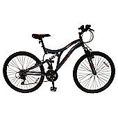 "Muddyfox Devil Hunter 26"" Gents Dual Suspension Mountain Bike"