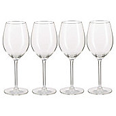Tesco Timeless Classic White Wine Glasses, 4 Pack