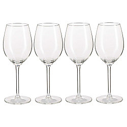 Timeless Classic White Wine Glasses, 4 Pack