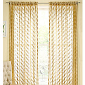 Fairmont Rod Pocket Voile Panel - Beige