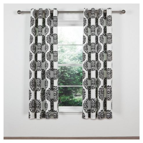 Tesco Nouveau Lined Eyelet Curtain W163xL183cm (64x72