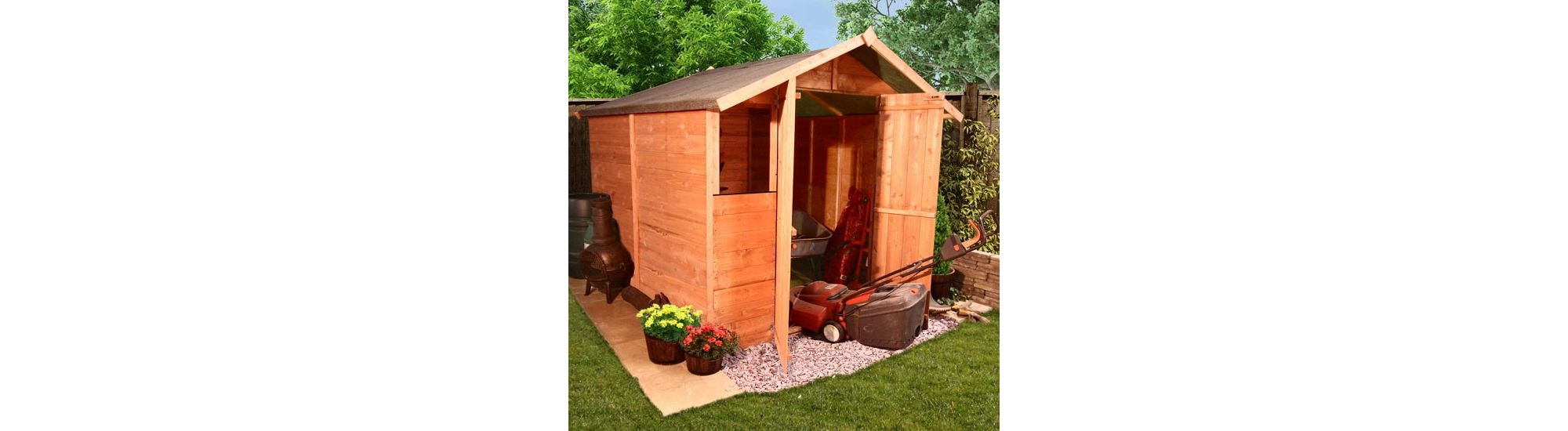 BillyOh 4000 Kent 8 x 8 Tongue & Groove Apex Shed