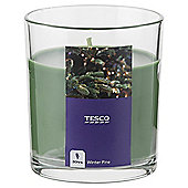 Tesco Winter Pine Filled Candle