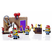 Mega Bloks Despicable Me Fire Rescue Figure Pack - 113 Pieces