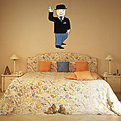 The Binary Box Mr Benn Suit Wall Sticker