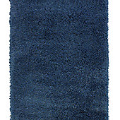 Oriental Carpets & Rugs Monte Carlo Blue Rug - 60cm x 115cm
