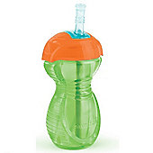 Munchkin Click Lock Straw Cup 10oz Green/Orange