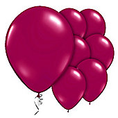 "9"" Valved Jewel Sparkling Burgundy (10pk)"