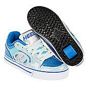 Heelys Motion Plus Blue/Ice Blue Kids Heely Shoe - Blue