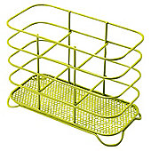 Green Wire Cutlery Drainer - Powder Coated