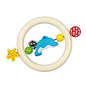 Heimess 735600 Wooden Ring Rattle (Dolphin)