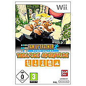 Family Trainer - Treasure Adventure & Mat - NintendoWii