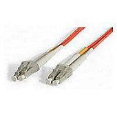 StarTech Duplex MM Fiber Optic Cable LC-LC (1m)