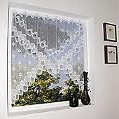 Loscher Ardison Envelope Curtain in White