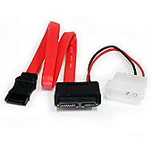 StarTech Cables 12 Slimline SATA to SATA with LP4 Power